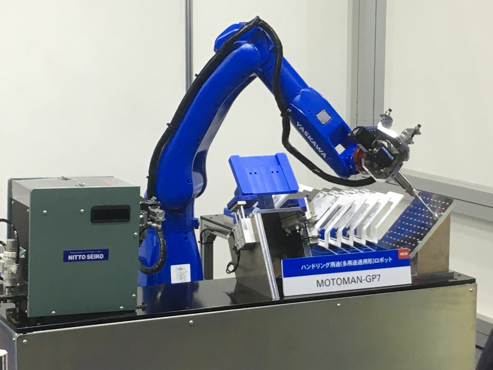 日東精工と安川電機が「ねじ締め自動化システム」を共同開発!