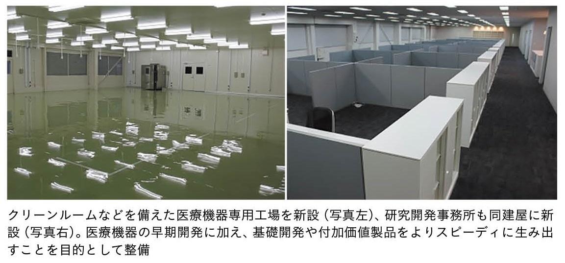 医療機器専用工場・研究開発事務所