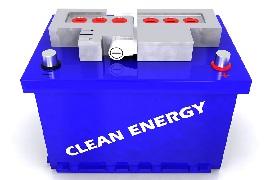 エネルギー(蓄電池)業界イメージ